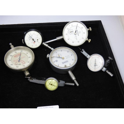 60 - Collection of six Vintage Dial test indicators...