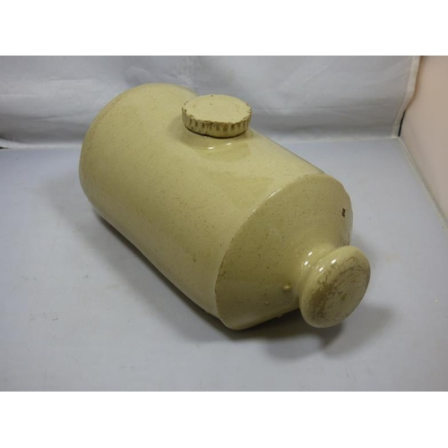 71 - Vintage/Retro, Stone, Pottery, Hot Water Bottle/ Bed Warmer...