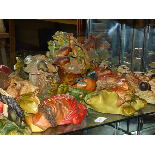 235 - Large selection of cast ornaments...
