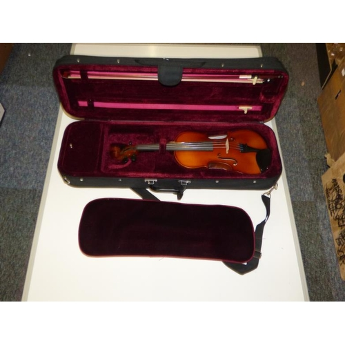 245 - Prima Loreato Violin with Case and Bow...