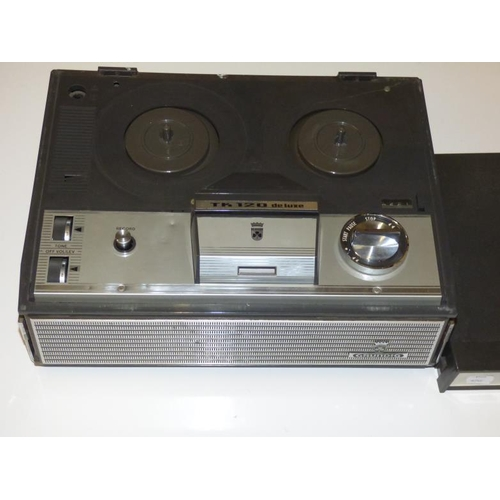 246 - Grundig TK120 Deluxe Reel to Reel Player and Recorder...