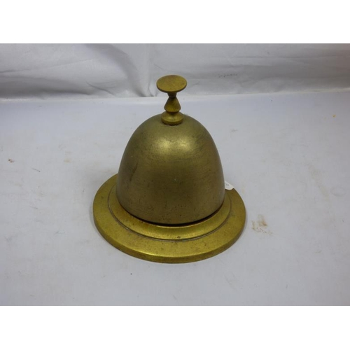 254 - Vintage Brass Counter Bell...