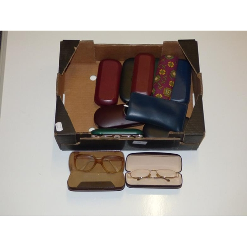 259 - Collection of glasses with cases...