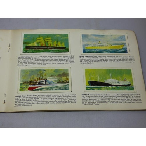 263 - Selection of Tea card books and cards...