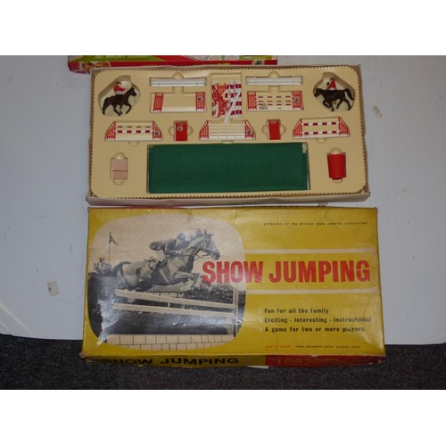279 - Selection of Vintage Games including Fernels Show Jumping, Amazing Robot, Car Capers and Lots More...