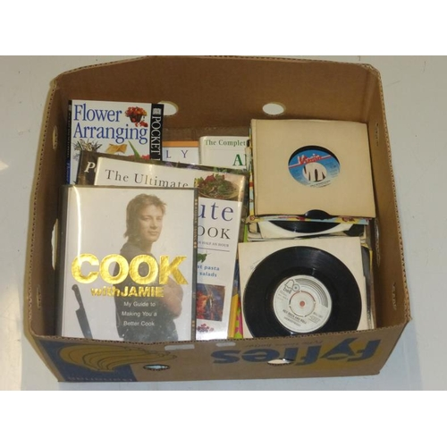 601 - Collection of singles and Quality Books including Jamie Oliver...
