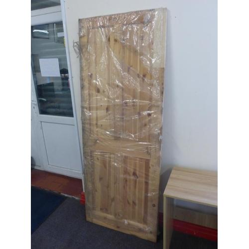 627 - Internal pine door approx. 78