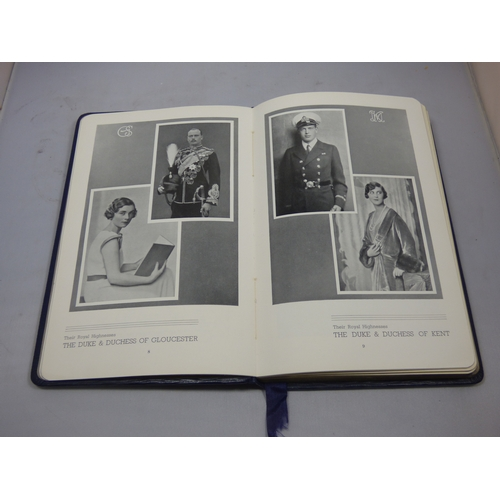 135 - Lest We Forget Coronation Year 1937 unused diary in pristine condition...