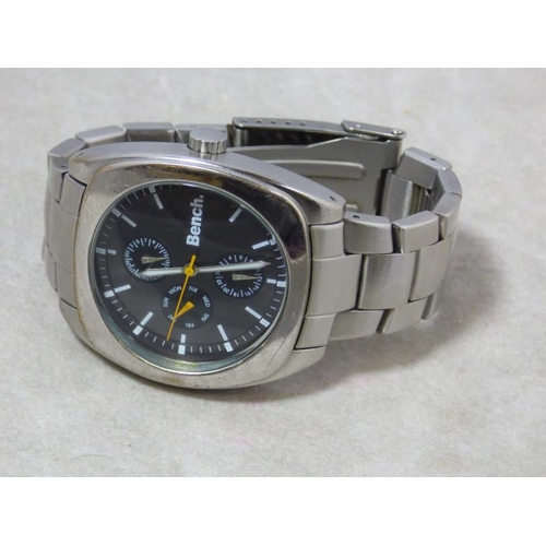 289 - Bench Gentlemen's Stainless Steel Watch...