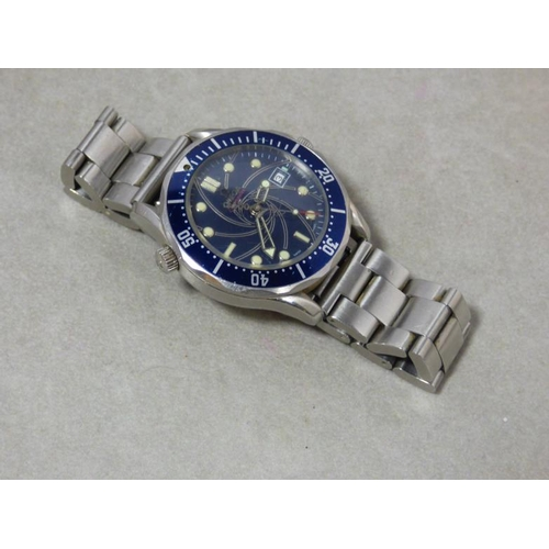 291 - Watch marked Omega Seamaster 007 (40 Years of James Bond)...