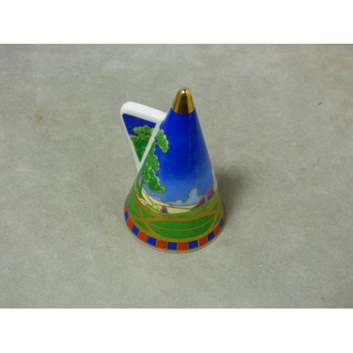 295 - Royal Worcester Lazy Days Pattern Candle Snuffer...
