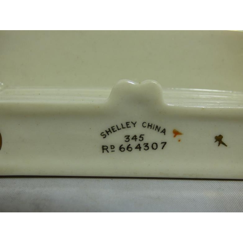 300 - Shelley and Carlton Crest Ware Desk Tidy's...