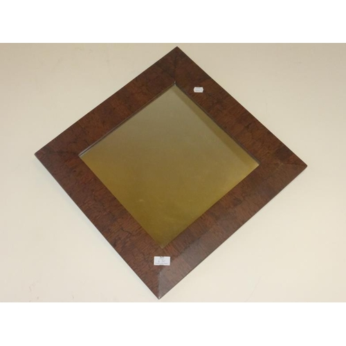 630 - Bevel Framed Square Mirror...