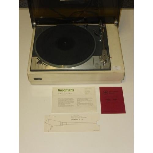 646 - Goldring Lenco GL 75 Transcription Turntable...