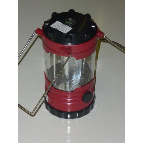 647 - LED Lantern with Built in Compass...