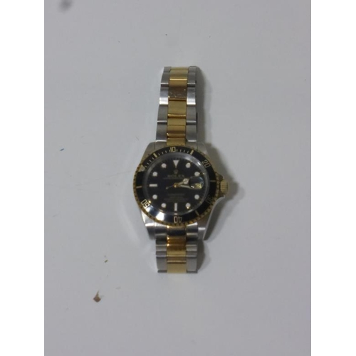 1 - Rolex Submariner (sold as seen)...