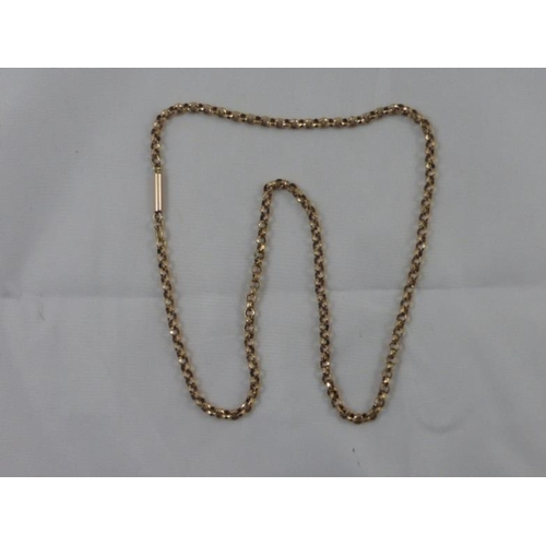 52 - Rolled Gold Belcher Chain