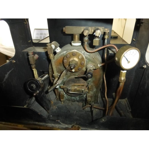 1 - Martin Evans Designed Simplex 0-6-0 5inch Guage Coal Powered Steam Train with Copper Boiler and Bras...
