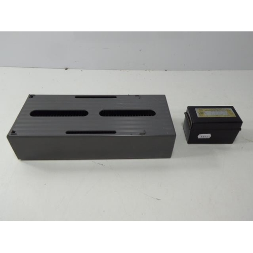 35 - Vintage View Slider Storage Box With A Smaller One With View Slides In It...