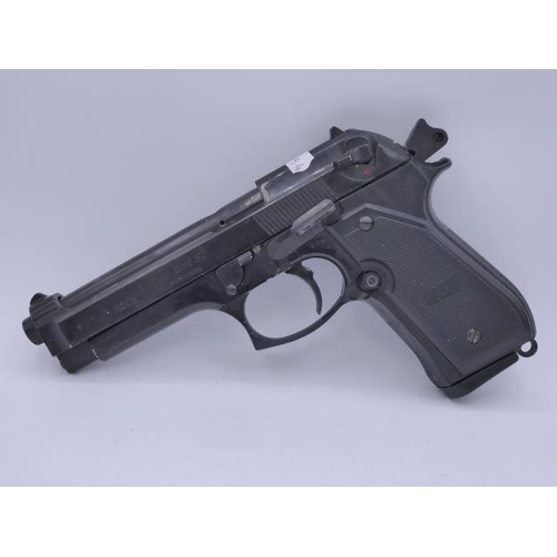 Blank pistol Reck Miami 92 F black cal 8mm