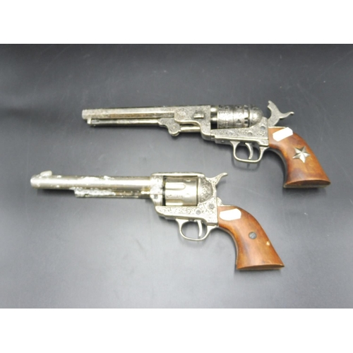 3 - Pair of Replica Six Shot Pistols...