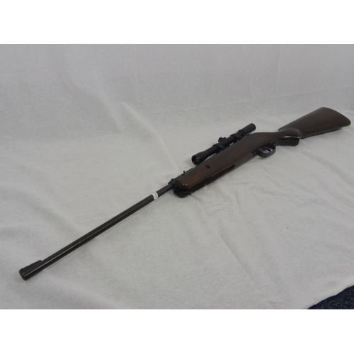 4 - NAC .22 Air Rifle Complete with Scope...