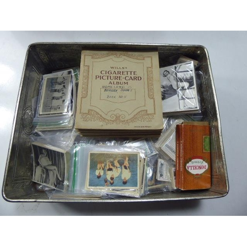 12 - Large Collection of over 1000 Cigarette Cards dating from the 1930s including 40 Full Sets in Albums...
