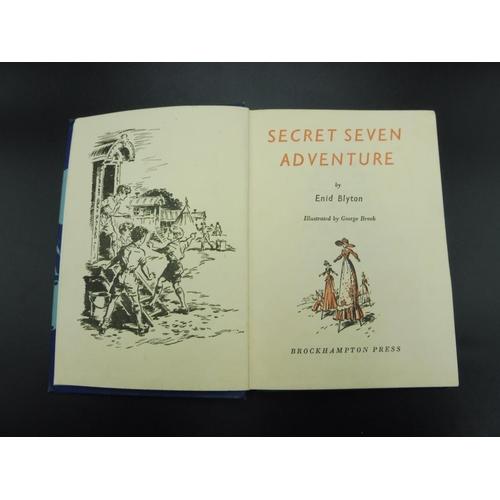 14 - Two Hard back Enid Blyton Books, - Go Aead Secret Seven & The Secret Seven Adventure...