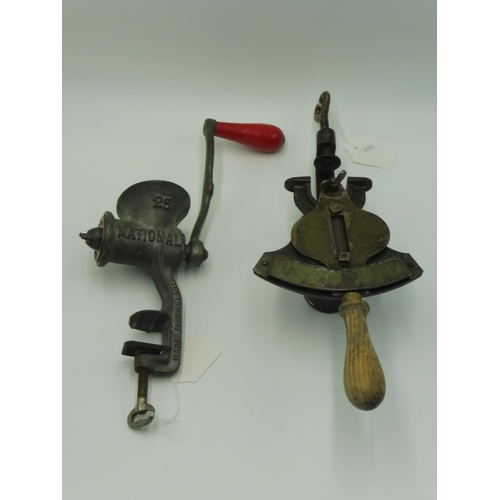 27 - A Vintage Magic Marmalade Cutter and A Vintage Spong Mincer, National 25...