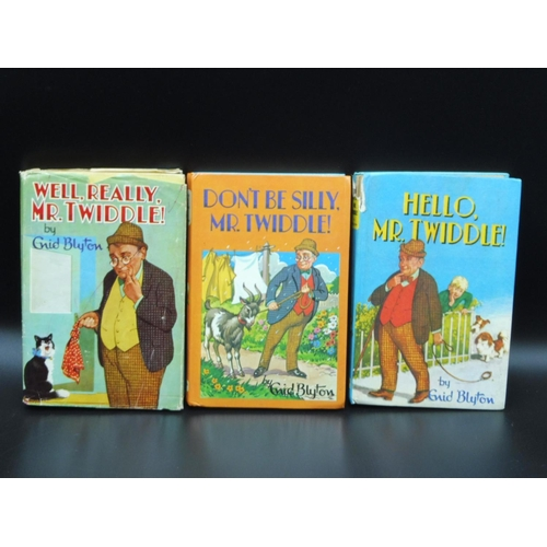 30 - Three Hard Back Enid Blyton Books - Dont be Silly Mr Twiddle & Well, Really Mr Twiddle & Hello Mr. T...