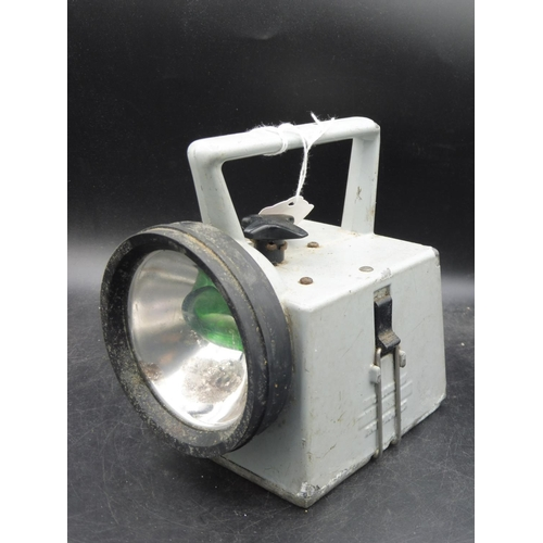 46 - Vintage Quad Colour Railway Signal Lamp - White/Red/Yellow/Green...