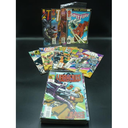 4 - Collection of Twenty-Five Comics to include Issue 1 Bruce Wayne, Thor, Robocop and many more...