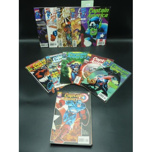 5 - Collection of Nineteen Captain America Comics...