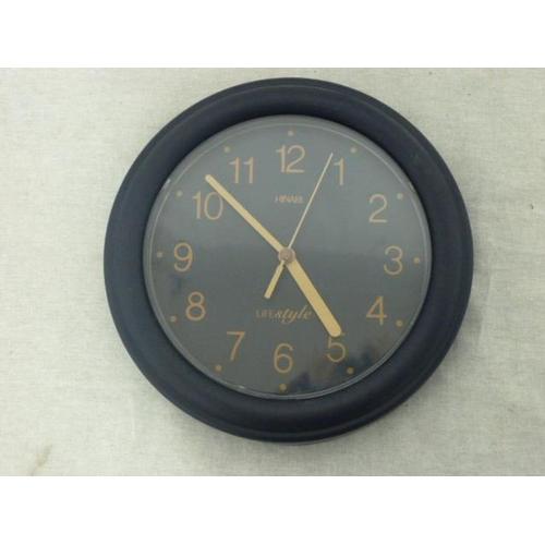 8 - Hinari wall clock...