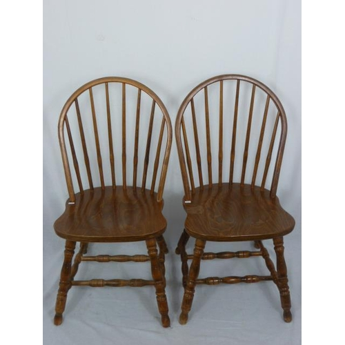 26 - Two Vintage Spindle Back Chairs...