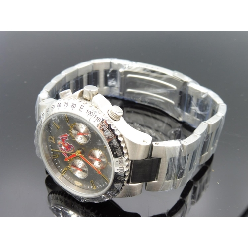 12 - The Bradford Exchange - Men's Ruler Of The Realm Chronograph Watch - Gunmetal Stainless Steel  Limit...
