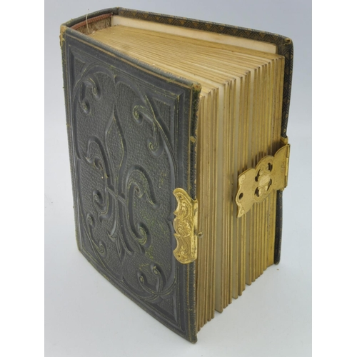 5 - Victorian Photograph Album complete with photographs...