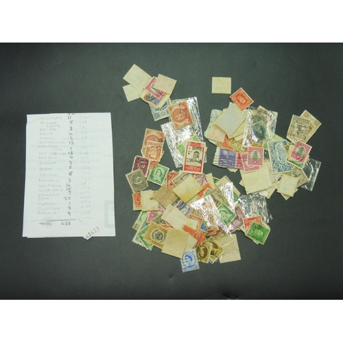 6 - Selection of Stamps including Jamaica First Day Cover, Approx 438 Mixed World Stamps and Improved Al...