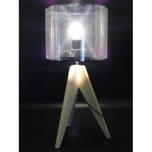 28 - Tripod light with shade 21.5