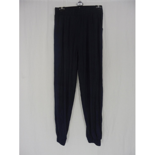 17 - Womens Navy Blue Baggy Sweatpants size 28''...
