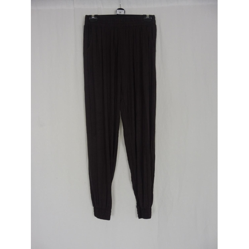 19 - Womens Brown Baggy Sweatpants size 26''...