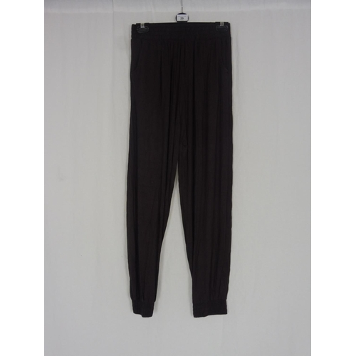 22 - Womens Brown Baggy Sweatpants size 26''...