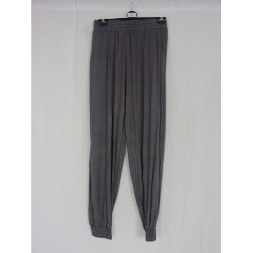 24 - Womens Grey Baggy Sweatpants size 26''...
