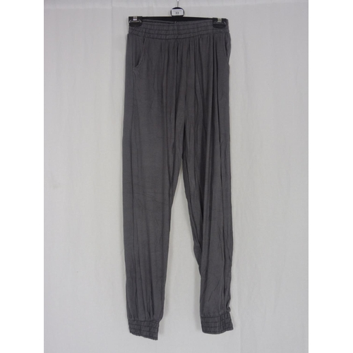 25 - Womens Grey Baggy Sweatpants size 26''...