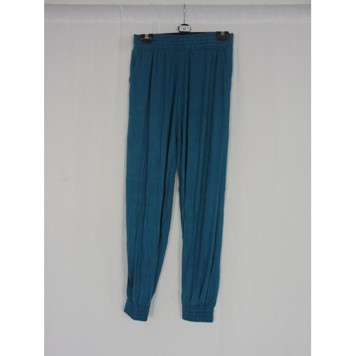 29 - Womens Turquoise Baggy Sweatpants size 28''...