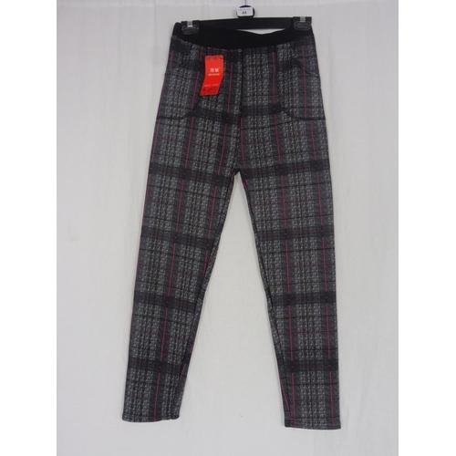 36 - Boyannvku Womens Plaid Pants Size 26''...