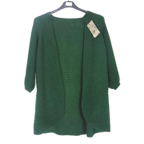 45 - Womens Green Cardigan Medium...