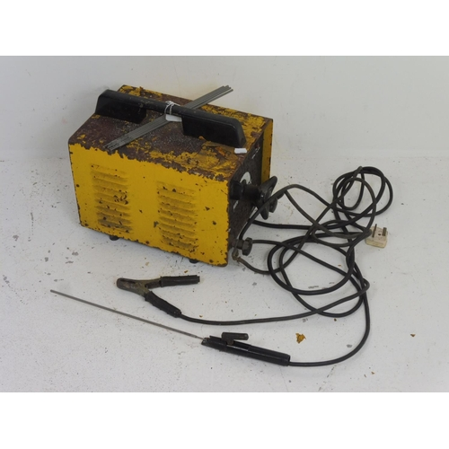25 - Arc Welder 240V complete with six welding rods...