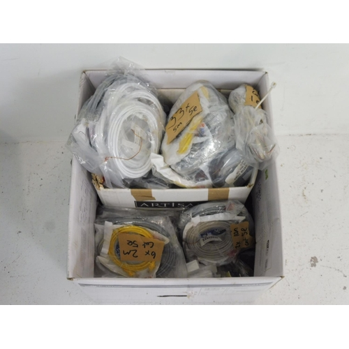 26 - Large Collection of Internet Cables and and Tailed Adaptors...