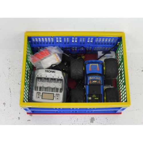 36 - Mixed Selection Including Tronic Battery Charger, Radio Controlled Caar, Printer Ink and More...